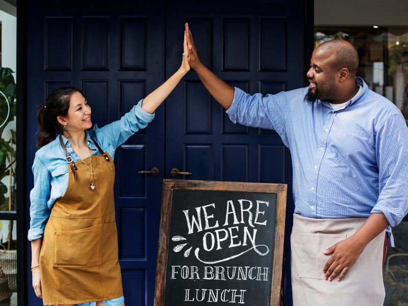 Restaurant owners living their true business ownership